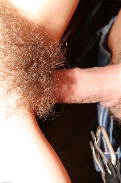 Fine Hairy Pussy Penetration Up Close